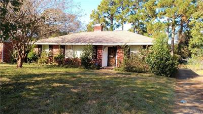 Montgomery AL Single Family Home For Sale: $75,000