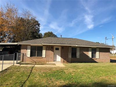 Deatsville Single Family Home For Sale: 1861 Alpine Lane
