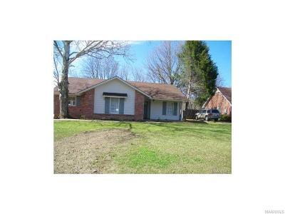 Montgomery AL Single Family Home For Sale: $99,900