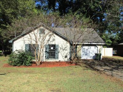 Montgomery AL Single Family Home For Sale: $42,000