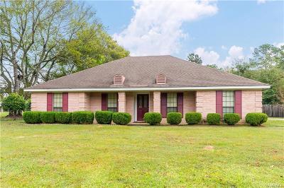 Wetumpka Single Family Home For Sale: 321 New Bingham Drive