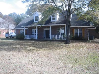 Wetumpka Single Family Home For Sale: 952 Old Ware Road