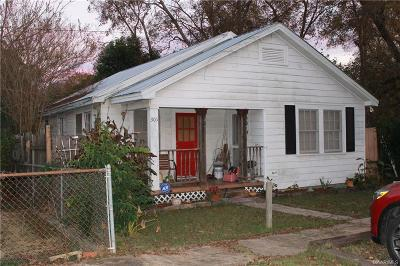 Wetumpka Single Family Home For Sale: 306 N Broad Street