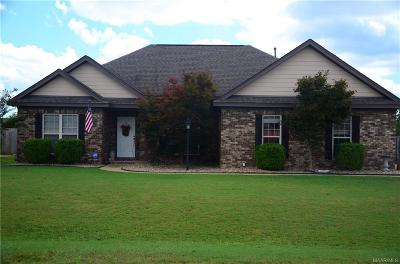 Wetumpka Single Family Home For Sale: 181 Village Way