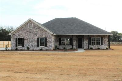 Deatsville Single Family Home For Sale: 476 County Rd 40