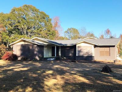 Deatsville Single Family Home For Sale: 1858 Alpine Lane