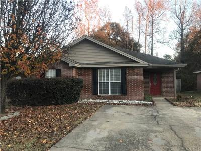 Prattville Single Family Home For Sale: 513 McGriff Street