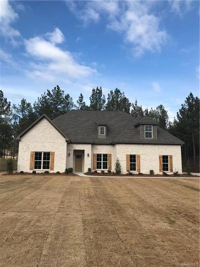 Wetumpka Single Family Home For Sale: 71 Southern Oak Lane