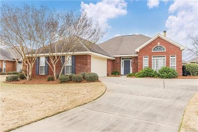 Montgomery Single Family Home For Sale: 7912 Bridgewater Trace