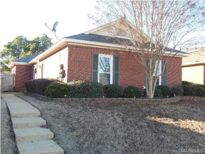 Prattville AL Single Family Home For Sale: $139,900