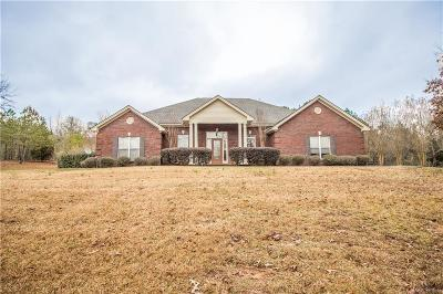 Deatsville Single Family Home For Sale: 2272 County Rd 85 Road