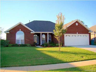 Prattville Rental For Rent: 1329 Carson Drive