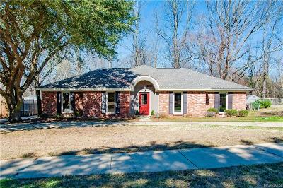 Montgomery Single Family Home For Sale: 4605 Fox Den Lane
