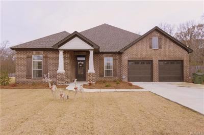 Montgomery Single Family Home For Sale: 7942 Oak Crest Place