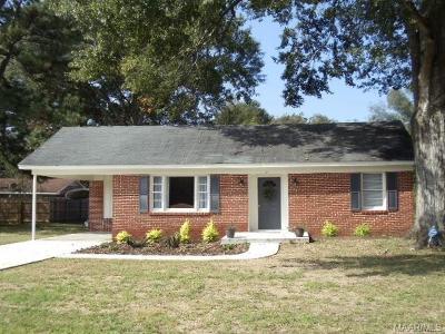 Selma Single Family Home For Sale: 131 Vaughan Memorial Drive