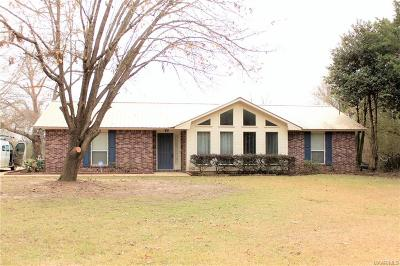 Tallassee Single Family Home For Sale: 824 E Patton Street