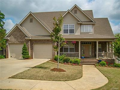 Prattville Single Family Home For Sale: 207 High Pointe Ridge