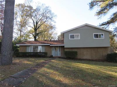 Montgomery AL Single Family Home For Sale: $139,900