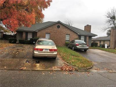 Montgomery AL Multi Family Home For Sale: $98,000
