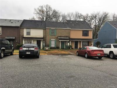 Montgomery AL Condo/Townhouse For Sale: $33,000