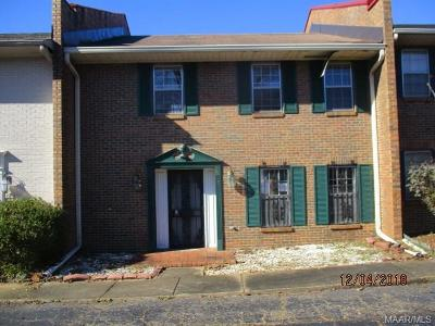 Montgomery Condo/Townhouse For Sale: 3516 Carter Hill Road