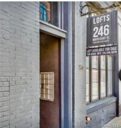 Alabama River Condo/Townhouse For Sale: 246 N Court Street #J