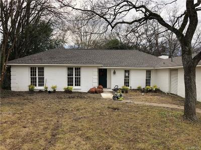 Montgomery Single Family Home For Sale: 2450 Winchester Road