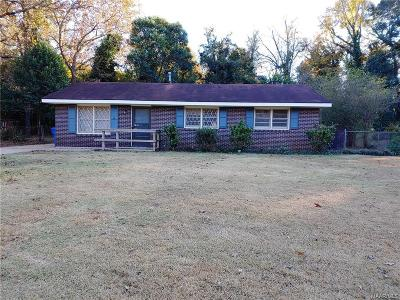 Prattville Single Family Home For Sale: 628 Sunset Drive
