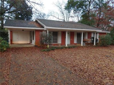 Prattville Single Family Home For Sale: 1366 Cooper Avenue