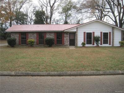 Wetumpka Single Family Home For Sale: 220 James Street