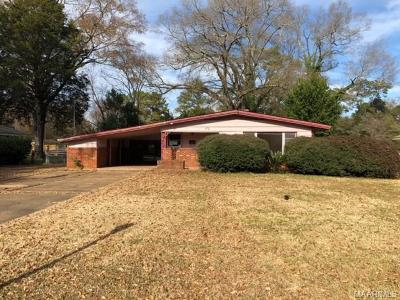 Montgomery Single Family Home For Sale: 2823 Sumter Avenue