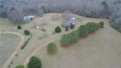 Wetumpka Single Family Home For Sale: 755 Grier Road