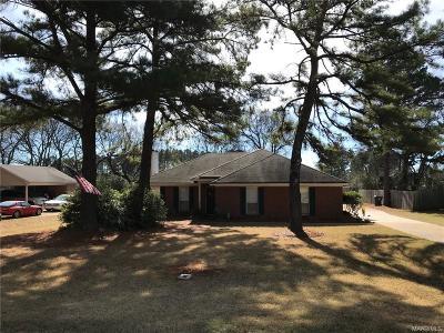 Wetumpka Single Family Home For Sale: 50 Honeysuckle Court