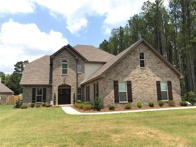 Wetumpka Single Family Home For Sale: 341 Mountain Meadows Lane