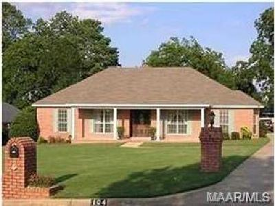 Prattville Single Family Home For Sale: 104 Twelve Oaks Court