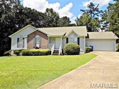 Prattville Single Family Home For Sale: 406 Gardner Road
