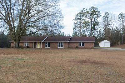 Prattville Single Family Home For Sale: 1429 County Road 57