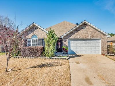 Wetumpka Single Family Home For Sale: 364 McDonald Drive