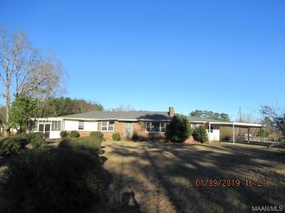 Autaugaville Single Family Home For Sale: 176 County Road 13