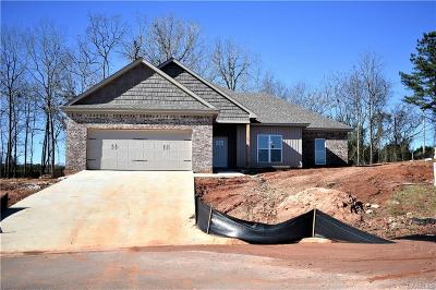 Wetumpka Single Family Home For Sale: 108 Mulder Cove Lane