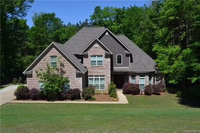 Wetumpka Single Family Home For Sale: 105 Jackson Lane
