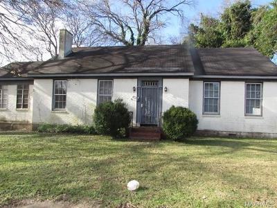Selma Single Family Home For Sale: 401 Pettus Street