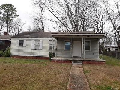 Montgomery Single Family Home For Sale: 428 National Avenue