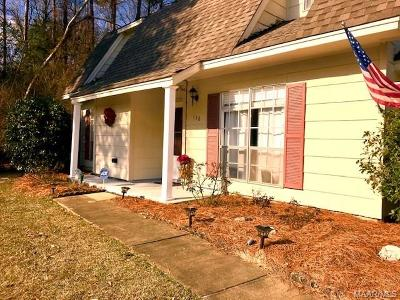 Prattville AL Single Family Home For Sale: $127,000