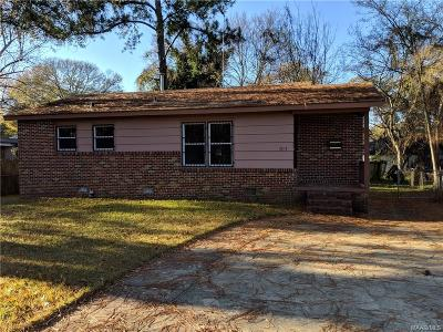 Montgomery Single Family Home For Sale: 2107 Yarbrough Circle