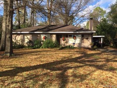 Montgomery Single Family Home For Sale: 1225 Navarro Avenue