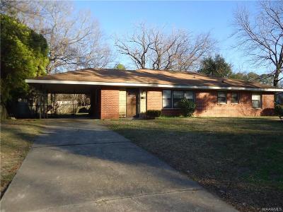Montgomery Single Family Home For Sale: 3809 Audubon Road