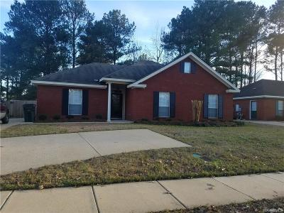 Wetumpka Single Family Home For Sale: 807 Shade Tree Court