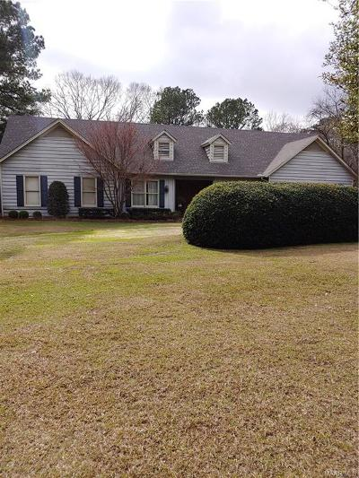 Selma Single Family Home For Sale: 807 Cahaba Road