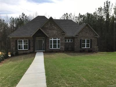 Wetumpka Single Family Home For Sale: 344 Forest Mountain Drive